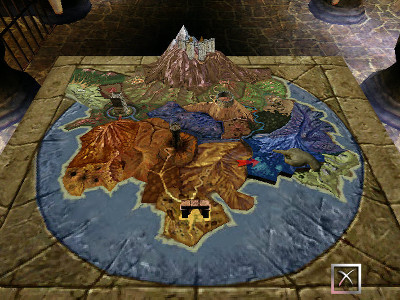 Dungeon Keeper 2 - World Map